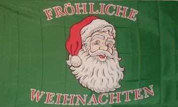 Flagge Fahne Fröhliche Weihnachten 90 x 150 cm - Vorschau