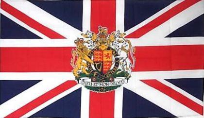 Flagge Fahne Großbritannien Wappen 90 x 150 cm - Vorschau