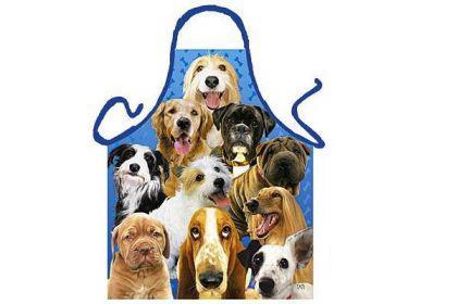 Schürze Hunde 56 x 73 cm
