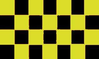 Flagge Fahne Karoflagge hgelb schwarz 90 x 150 cm - Vorschau