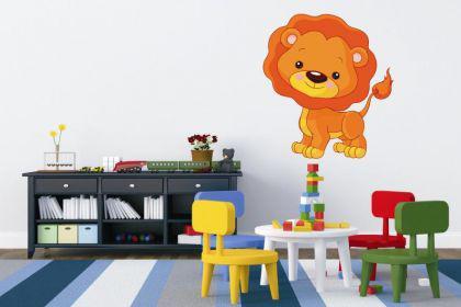 Wandtattoo Kleiner Löwe