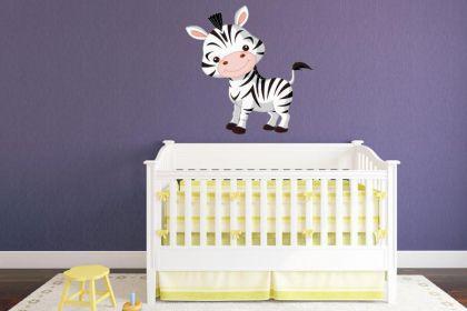 Wandtattoo Kleines Zebra