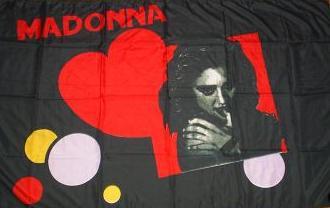 Flagge Fahne Madonna 90 x 150 cm - Vorschau