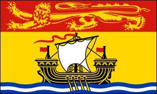Flagge Fahne New Brunswick 90 x 150 cm - Vorschau