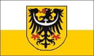 Flagge Fahne Niederschlesien 90 x 150 cm