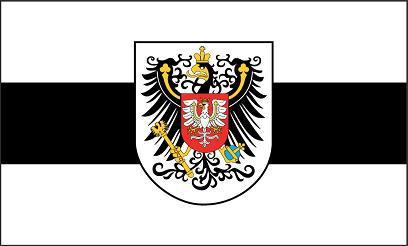 Flagge Fahne Posen mit Wappen 90 x 150 cm - Vorschau