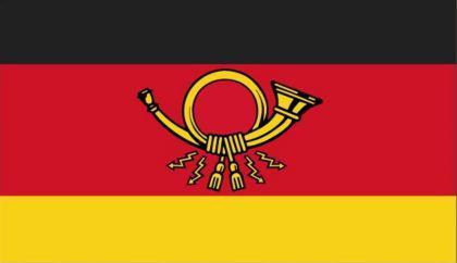Flagge Fahne Deutsche Post 90 x 150 cm - Vorschau