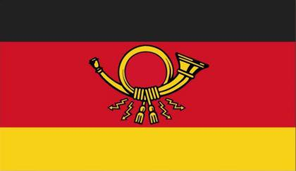 Flagge Fahne Deutsche Post 90 x 150 cm