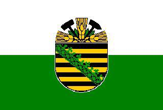 Flagge Fahne Sachsen Anhalt alt 90 x 150 cm - Vorschau