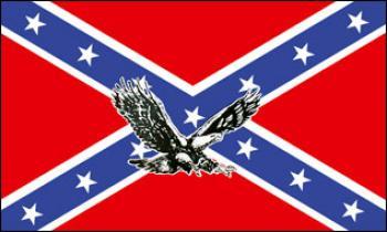 Flagge Fahne Südstaaten Adler 90 x 150 cm