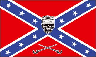 Flagge Fahne Südstaaten Ranger 90 x 150 cm - Vorschau