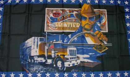 Flagge Fahne The last Frontier 90 x 150 cm - Vorschau
