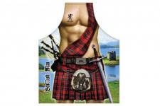 Schürze Schottischer Mann Scottish Man 56 x 73 cm