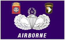Flagge Fahne Airborne Parachute 90 x 150 cm
