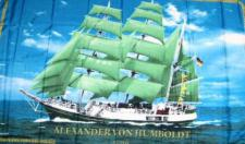 Flagge Fahne Alexander von Humboldt 90 x 150 cm