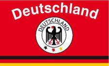 Flagge Fahne Deutschland Fan 10 90 x 150 cm