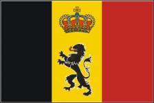 Flagge Fahne Belgien Wappen 90 x 150 cm