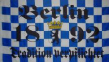 Flagge Fahne Berlin 1892 Tradition 90 x 150 cm