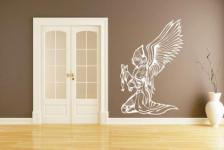 Wandtattoo Betender Engel