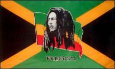 Flagge Fahne Bob Marley 90 x 150 cm