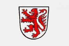 Flagge Fahne Braunschweiger Wappen 90 x 150 cm
