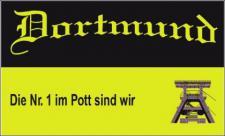 Flagge Fahne Dortmund Nr. 1 im Pott 90 x 150 cm
