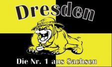 Flagge Fahne Dresden Nr. 1 90 x 150 cm