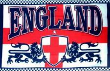 Flagge Fahne England 2 Löwen 90 x 150 cm