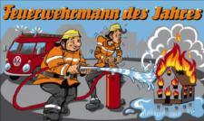 Flagge Fahne Feuerwehrmann des Jahres 90 x 150 cm