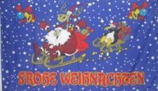 Flagge Fahne Frohe Weihnachten IV 90 x 150 cm