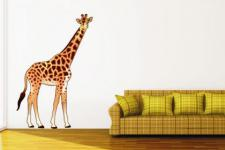 Wandtattoo Giraffe Color Motiv Nr. 1