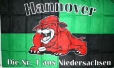 Flagge Fahne Hannover Bulldogge 90 x 150 cm