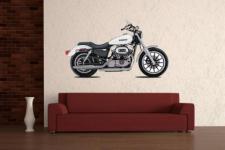Wandtattoo Motorrad Color Motiv Nr. 1