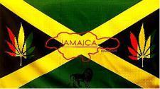Flagge Fahne Jamaika Hanf 90 x 150 cm
