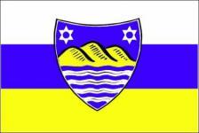 Flagge Fahne Juist neu 90 x 150 cm