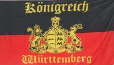 Flagge Fahne Königreich Württemberg ST 90 x 150 cm