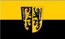 Flagge Fahne Landkreis Mühldorf / Inn 90 x 150 cm
