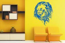 Wandtattoo Lion Head Motiv Nr. 1
