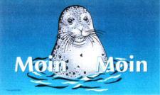 Flagge Fahne Moin Seehund II 90 x 150 cm