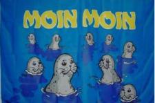 Flagge Fahne Moin Moin Seehunde 90 x 150 cm