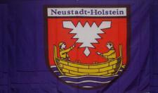Flagge Fahne Neustadt Holstein 90 x 150 cm