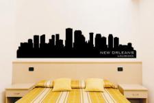 Wandtattoo New Orleans Skyline