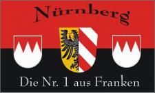 Flagge Fahne Nürnberg Nr. 1 90 x 150 cm