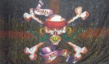 Flagge Fahne Pirat born to be wild 90 x 150 cm