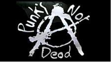 Flagge Fahne Punk's not dead 90 x 150 cm
