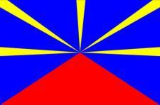 Flagge Fahne Reunion 90 x 150 cm