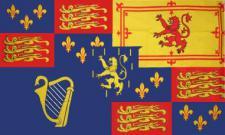 Flagge Fahne Royal Banner 1689 - 1702 90 x 150 cm
