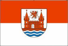 Flagge Fahne Schwedt 90 x 150 cm