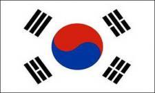 Flagge Fahne Süd Korea 90 x 150 cm