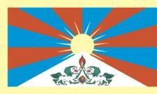 Flagge Fahne Tibet 90 x 150 cm
